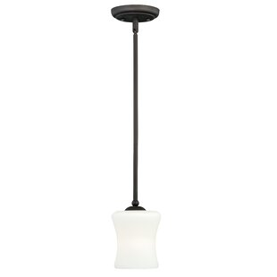 Loon Peak Porcaro 1-Light Bell Pendant