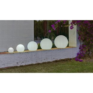 Menelaus White Plug-In Floor Lamp By Sol 72 Outdoor