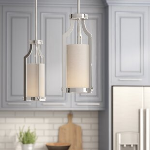 Bullen 1-Light Cylinder Pendant by Three Posts