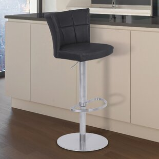 Best Price Denison Adjustable Height Swivel Bar Stool by Latitude Run Reviews (2019) & Buyer's Guide