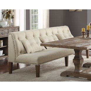 Gracie Oaks Loiselle Dining Bench