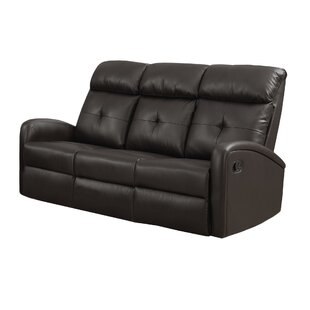 Affordable Price Reclining Sofa by Monarch Specialties Inc. Reviews (2019) & Buyer's Guide