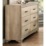Gretna Transitional 6 Drawer  Bachelor's Chest by Ophelia & Co.