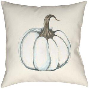 Lodge Cabin Pumpkin Indoor/Outdoor Throw Pillow