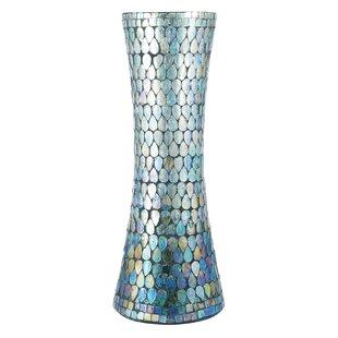 Amaris Blue/White Table Vase