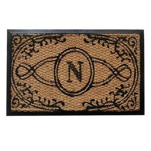 Bristol Monogrammed Doormat by Geo Crafts, Inc