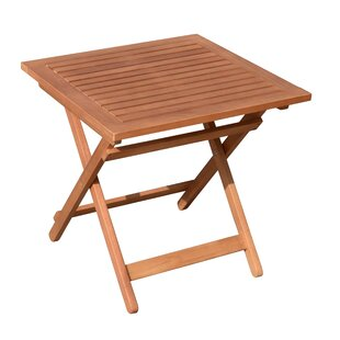 Syreeta Folding Solid Wood Side Table By Sol 72 Outdoor