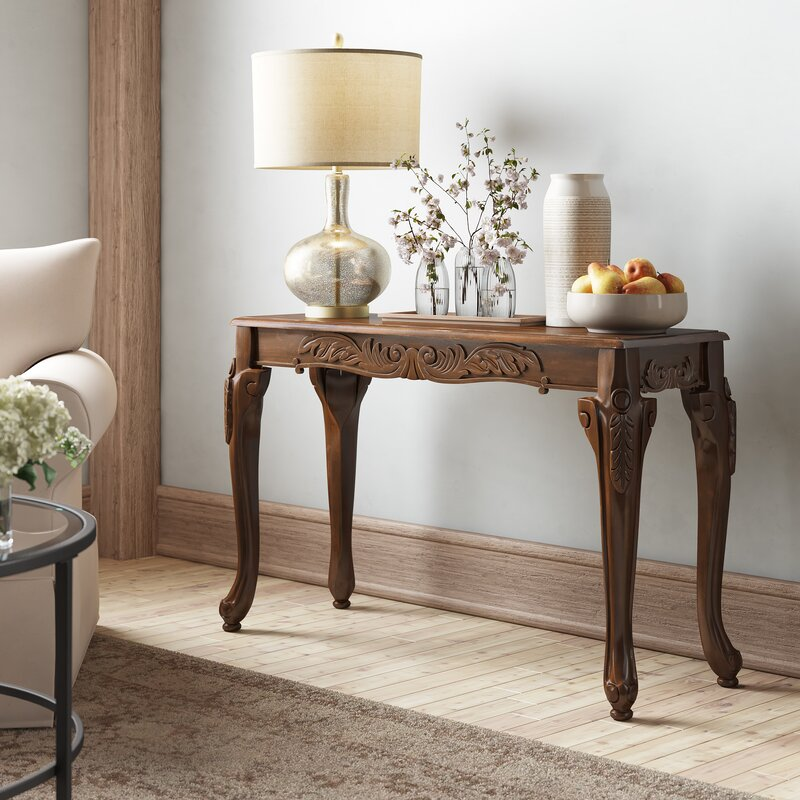 Astoria Grand Walther 48 Console Table Reviews Wayfair