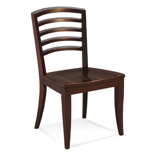 Sofian Contemporary Solid Wood Dining Chair Latitude Run