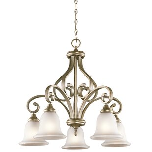 Bretton 5-Light Shaded Chandelier by Red Barrel Studio