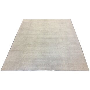 One-of-a-Kind Luzerne Hand-Knotted Wool Sand Neutral Area Rug ByAstoria Grand