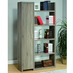 Ivy Bronx Hogarth Display with 5 Open Shelves Standard Bookcase