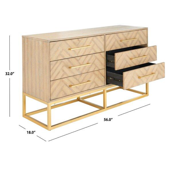 Delancey 6 Drawer Double Dresser Reviews Joss Main