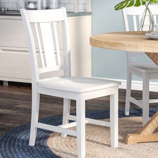 Grau Solid Wood Dining Chair by Beachcrest Home Today Only Sale