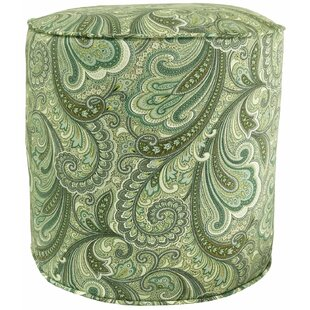 Stoneman Pouf Ottoman by Charlton Home