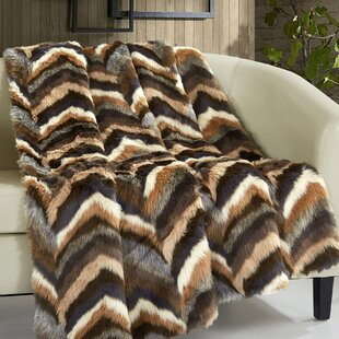Broadcommon Faux Fur Blanket byFoundry Select