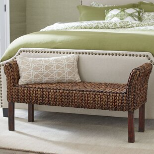 Birch Lane™ Clearwater Woven Bench