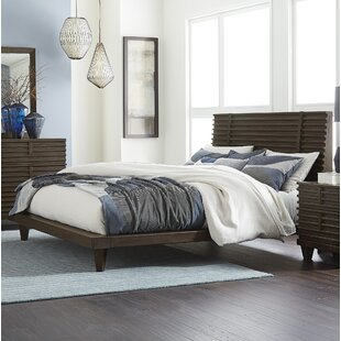 Union Rustic Old Down Panel Bed
