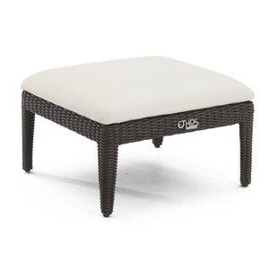 Brayden Studio Harman Ottoman with Cushion
