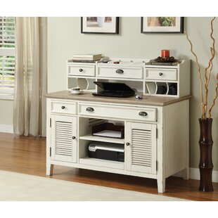 Margate Credenza Desk by Three Posts Cool