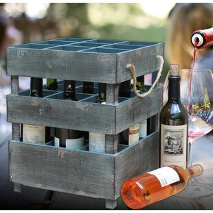 9 Bottle Tabletop Wine Rack by Quickway I..