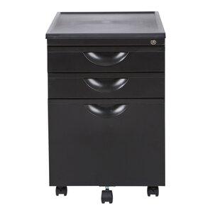 Symple Stuff Lehto 3 Drawer Vertical Filing Cabinet