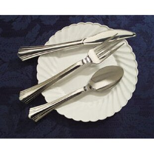 Shop For Reflections Design Plastic Disposable Forks By WNA Comet