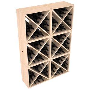 Karnes Pine X-Cube 144 Bottle Floor Wine ..