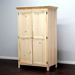 Wade Panel Door Armoire by Loon Peak