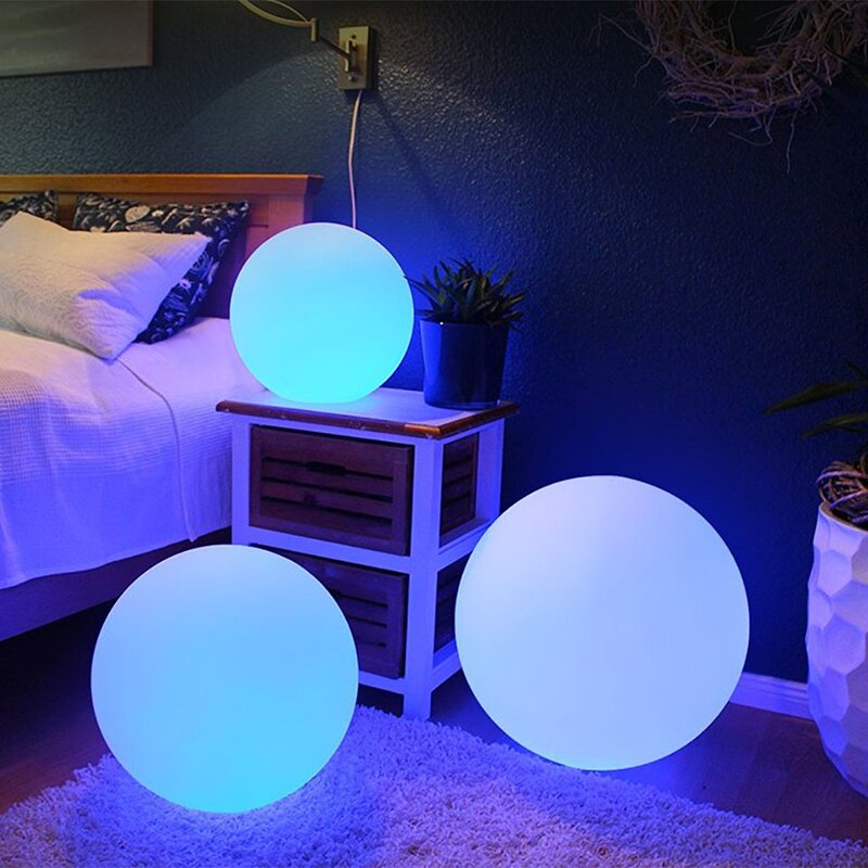 Vandue Corporation Modern Home Deluxe Led Glowing Sphere Decorative Accent Lighting Reviews Wayfair