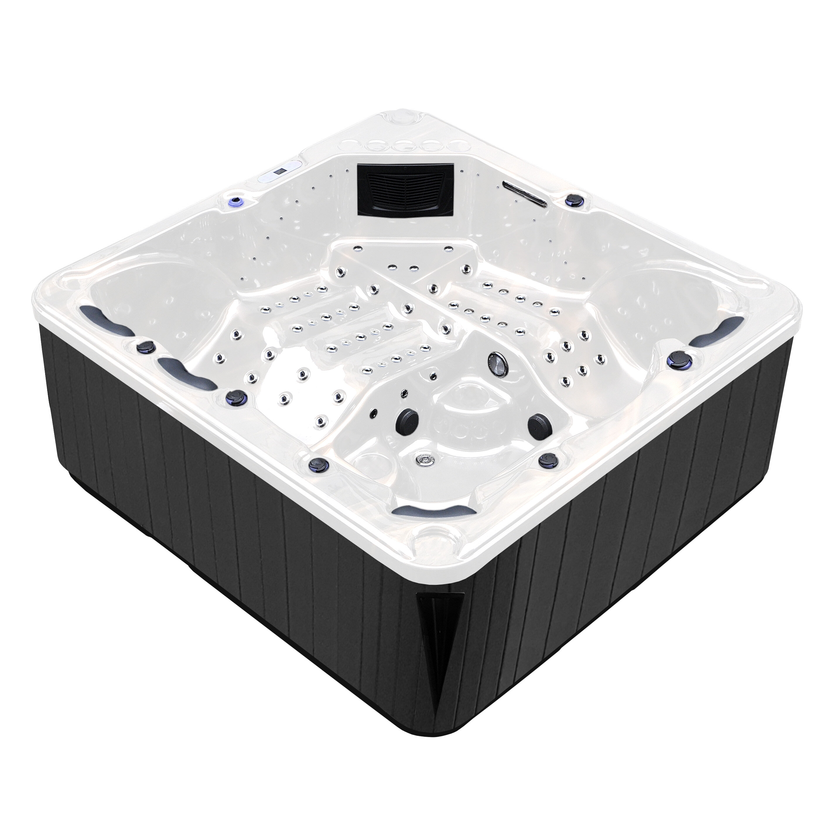 Tropic Spa Hurricane 7 Person 164 Jet Spa With Led Lights And