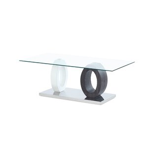 Affordable Price Spurlock Dual Oval Base Style Coffee Table By Orren Ellis