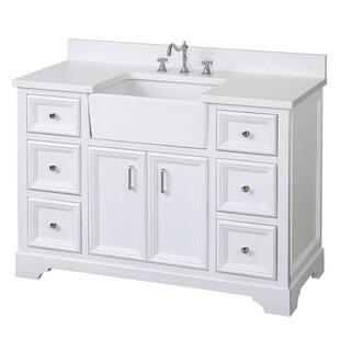 Affordable Zelda 48 Single Bathroom Vanity Set ByKitchen Bath Collection