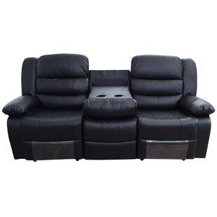 Moura 3 Seater Reclining Sofa By Home Loft Concept