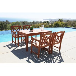 Breakwater Bay Blythe 5 Piece Dining Set
