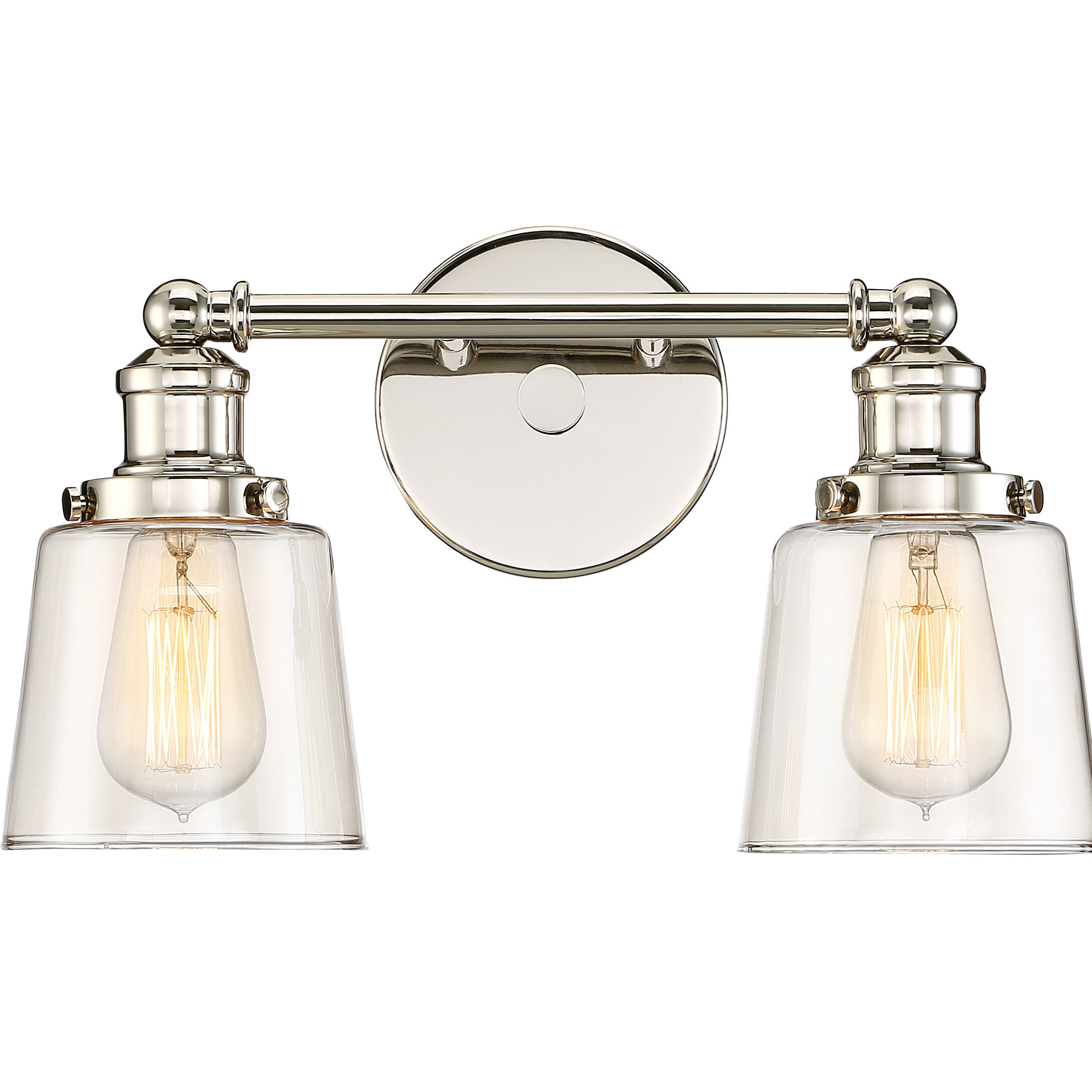 Beachcrest Home Sabbagh 2 Light Vanity Light Reviews Wayfair