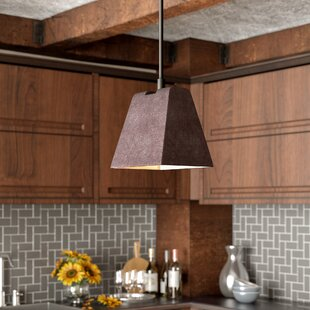 Amily Ceiling 1-Light Square/Rectangle Pendant by Williston Forge