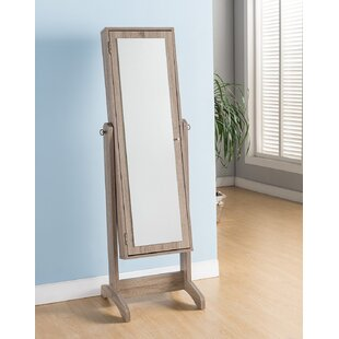 Searching for Walkerville Free Standing Jewelry Armoire with Mirror By Highland Dunes