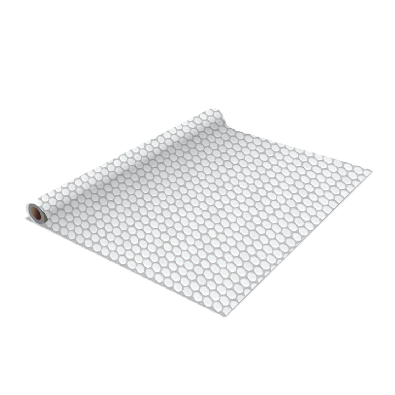 Penny Tile Self Adhesive Shelf Liner