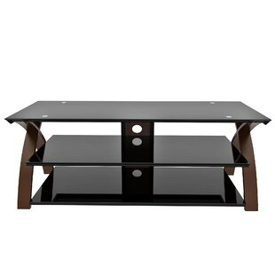 Buy clear Hilley TV Stand for TVs up to 65 by Symple Stuff Reviews (2019) & Buyer's Guide