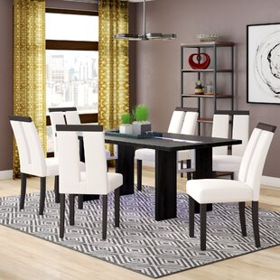 Haddonfield 7 Piece Dining Set Wade Logan