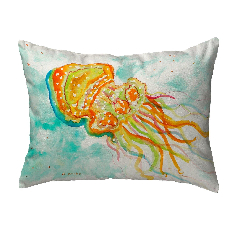 Highland Dunes Jellyfish Indoor Outdoor Lumbar Pillow Wayfair