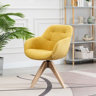 Swivel Yellow Accent Chairs Free Shipping Over 35 Wayfair