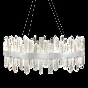 Fine Art Lamps Lior Rock 40-Light Drum Ch..