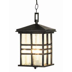 Millwood Pines Calloway 2-Light Outdoor Hanging Lantern