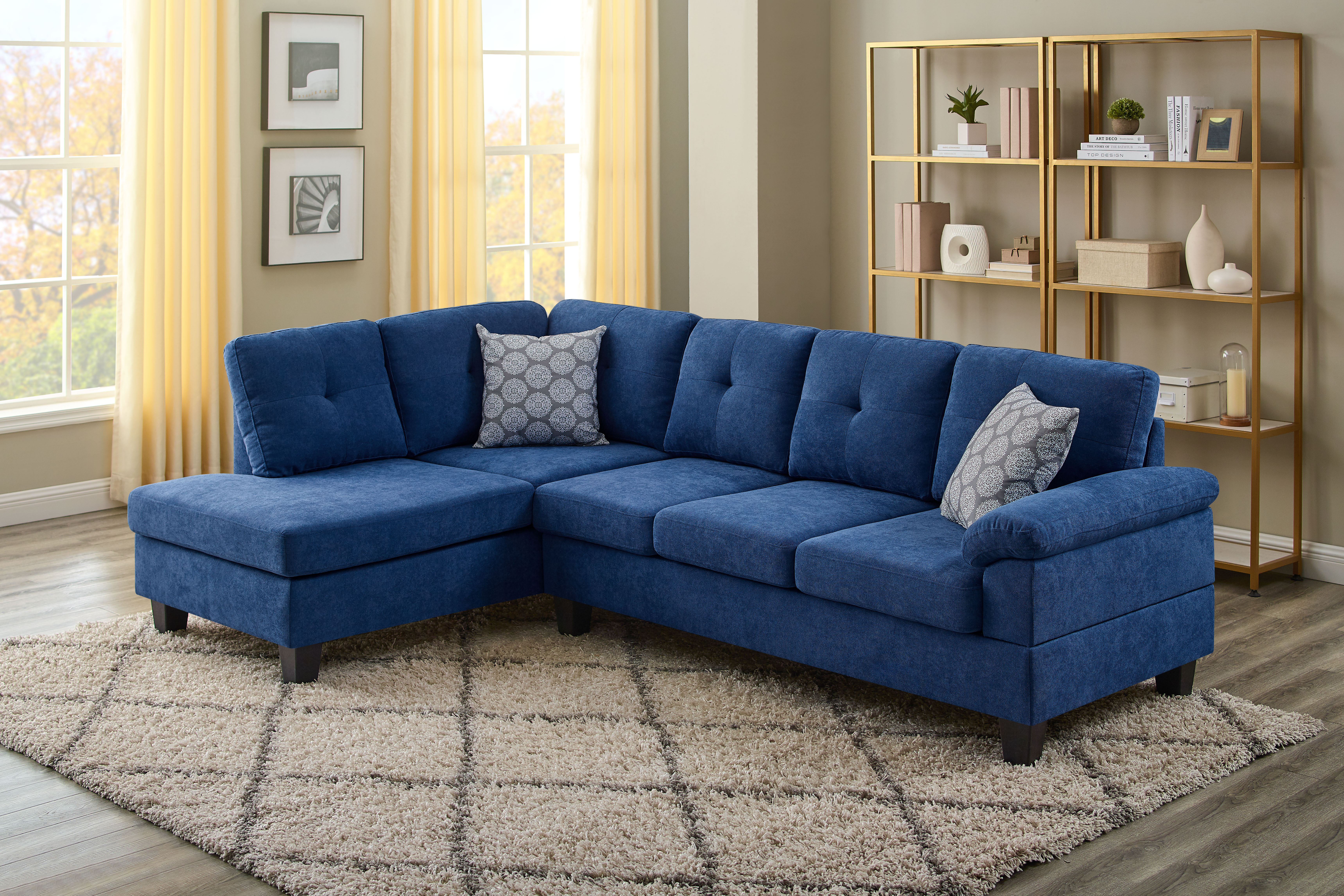 Blue Sectionals You Ll Love In 2021 Wayfair