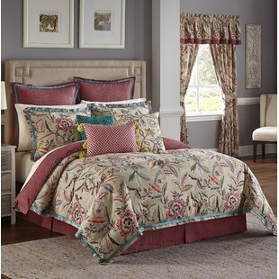 Key of Life 100% Cotton 4 Piece Reversible Comforter Set