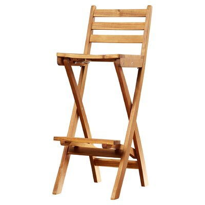 """Abbottstown 31"""" Patio Bar Stool by Andover Mills"""