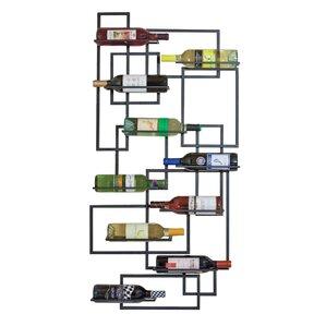 Haviland 10 Bottle Wall Mounted Wine Rack by Bra..