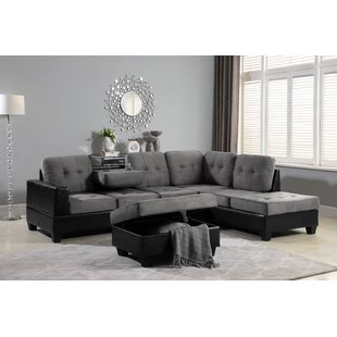 Prime Hoehne Park Place Reversible Sectional With Ottoman Gmtry Best Dining Table And Chair Ideas Images Gmtryco